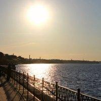 Волжские берега :: Елизавета Ханаева