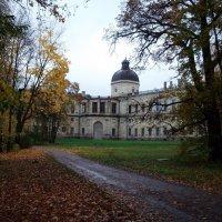 Гатчинский дворец, вид на окна мраморной столовой. :: Kiril Stupin