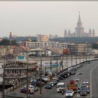 Вид с Бережсковской набережной :: Андрей Борисенко