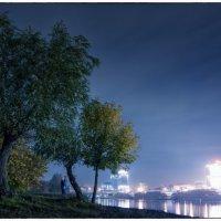 Ночь на берегу :: Игорь Гутлянский