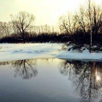 Зимнее озеро :: Сергей Лошкарёв