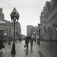 Дождливый Арбат :: Михайлов Михаил