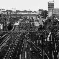 Моя голова- перекресток железных дорог (с.) :: Марина Николаева