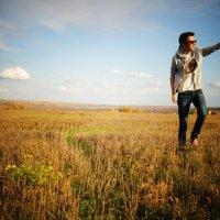 Осеннее поле :: Dmitriy Kubenin