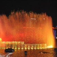 Танцующий фонтан :: Алла Попова