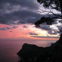 Закат над морем :: Виталий Высоцкий