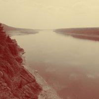 река Томь :: Ольга Виноград