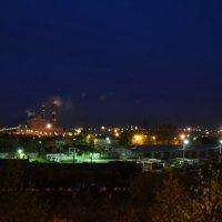 Ночной производственный пейзаж :: Вера Покровская
