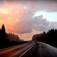 вечернее шоссе :: Дмитрий Ларионов