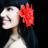 красное на черном :: Mila Syrina
