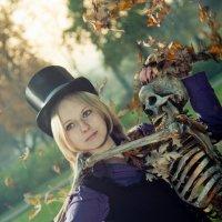 Tea Party with a skeleton :: Александр Мирошниченко