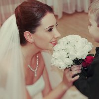 маленький принц и невеста... :: Батик Табуев