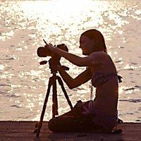 Девушка фотограф :: Зуфар Халиков