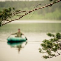 Таёжное озеро :: Сергей Photo Amp-Retouch