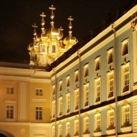Купола церкви Екатерининского дворца :: Олег Попков