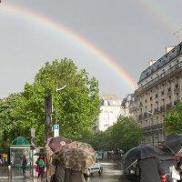 Дождь в Париже :: Ирина Краснобрижая