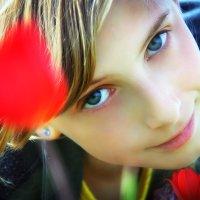 В тюльпанах :: Светлана Шаповалова