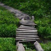 деревянный мостик :: Юля