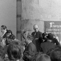 Место сбора - Большой театр. 9 мая 1982 года. :: Николай Кондаков