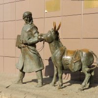 Скульптура Ходжи Насреддина :: Александр Качалин