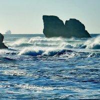 Ветер с материка. :: Эдуард Закружный