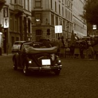 Поездка по городу Б :: Эдуард Цветков