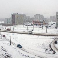 Северодвинск. А вот опять зима. Снег выпал и не тает, уже не раз... :: Владимир Шибинский