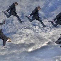 Облака-белогривые лошадки... :: Алексей -