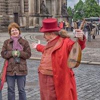 Самый колоритный экскурсовод в Дрездене :: Владимир Горубин