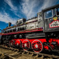 Ретро поезд :: Юлия Надеева