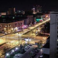 Проспект Ленина ночью :: Святослав Прутин