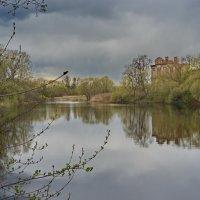 Знаменка.Пейзаж с руинами конюшенного корпуса. :: Anton Lavrentiev
