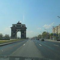 Триумфальная    Арка.   Москва. :: Мила
