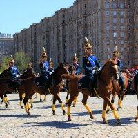 Кремлевский кавалерийский полк. 9 мая :: Анна -