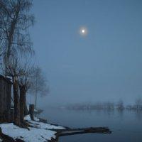 ночь.туман.река. :: Екатерина Булыгина