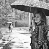 Под дождем... :: Елизавета Вавилова