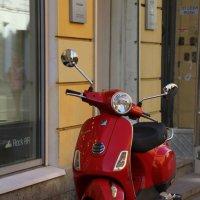 Красный мопед :: Aнна Зарубина