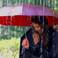 Весенний дождь. :: ФотоЛюбка *