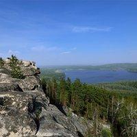 Голубое озеро нас к себе манИт. :: Сергей Адигамов