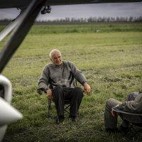 Под крылом самолета... :: Вячеслав Филиппов