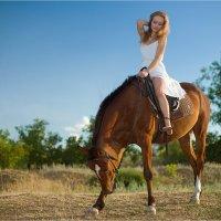 конные прогулки :: Евгений nibumbum