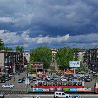,,Тучи над город встали,в воздухе пахнет грозой!..,,(с) :: Владимир Михайлович Дадочкин