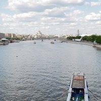 вид с Пушкинского моста :: Тарас Золотько