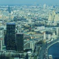 Москва с высоты птичьего полета :: Надежда Лаптева