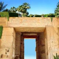Коллаж по мотивам путешествия по Египту :: Юля Юля