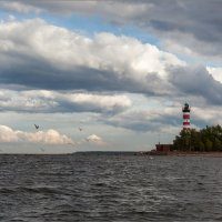 Шепелёвский маяк. :: Юрий