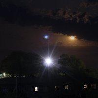 Ночное небо над Щучинском :: Владимир Анатольевич
