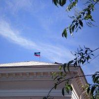 Флаг Донецкой Народной Республики :: Татьяна Пальчикова