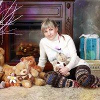 Юля и медведи =) :: Мария Дергунова