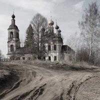 Церковь Богоявления (с. Уславцево, Ярославская область) :: Yury Mironov